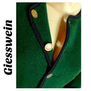 Giesswein Reine Schurwolle 📁 Green Wool Jacket 12